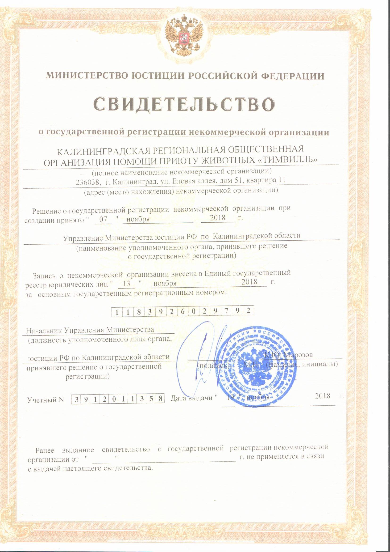 Фотографии документов